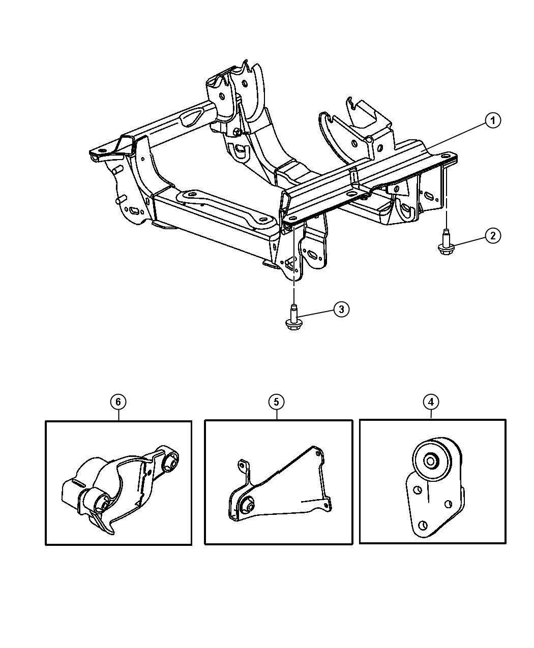 Jeep Liberty Bolt Mounting Axle Ratio Steering