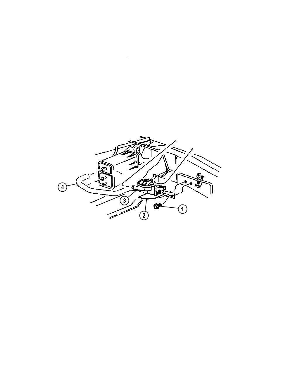 Dodge Durango Detector Natural Vacuum Leak Detection Egn