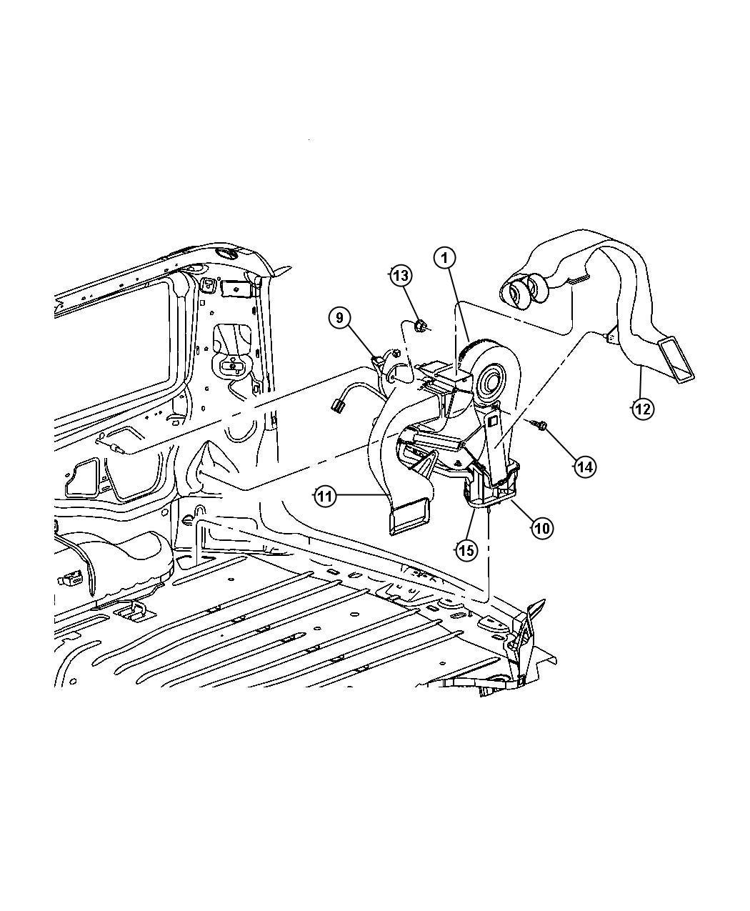 Jeep Commander Door Temp Zone Conditioning Air
