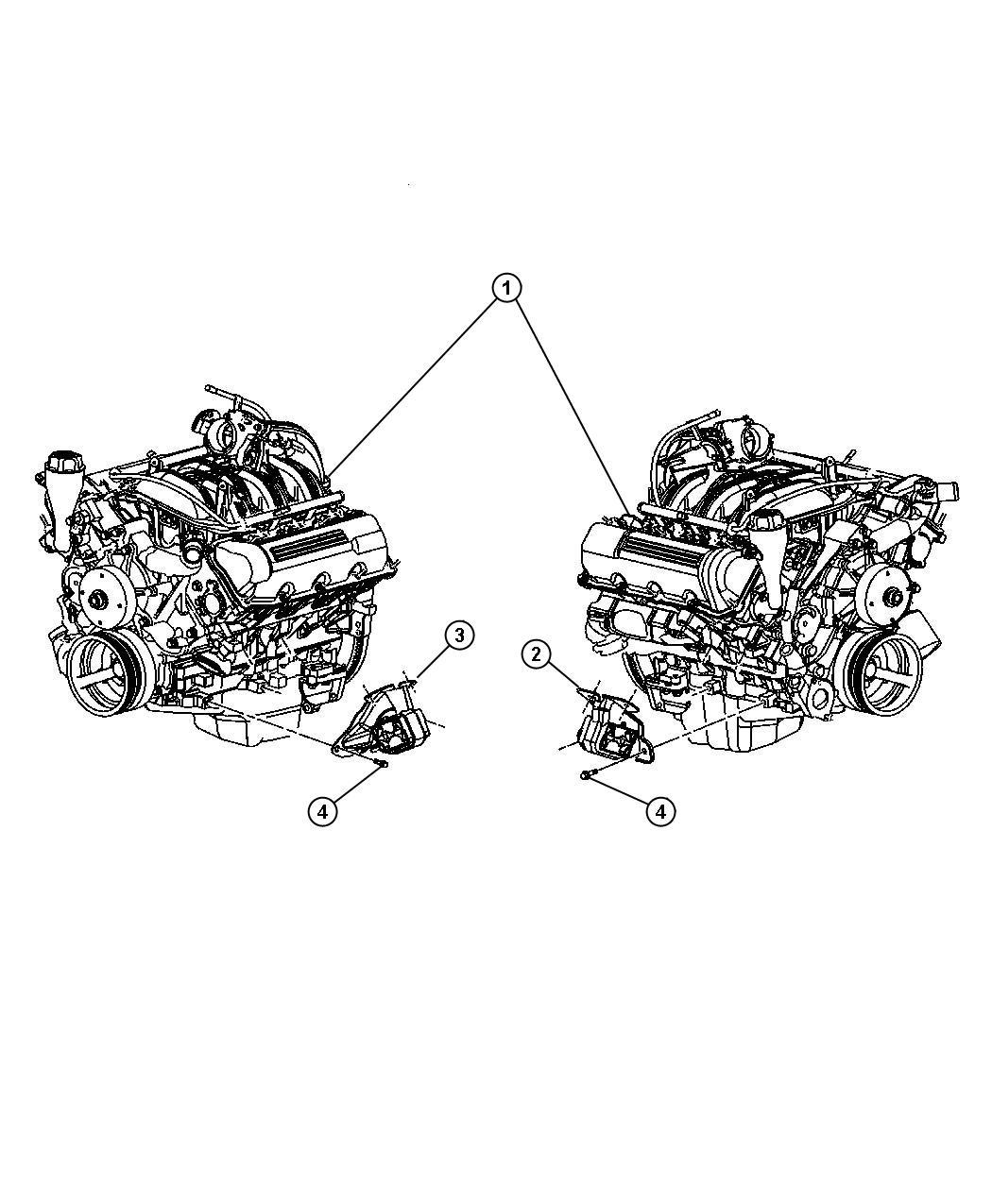 Jeep Liberty Insulator Engine Mount Mounts