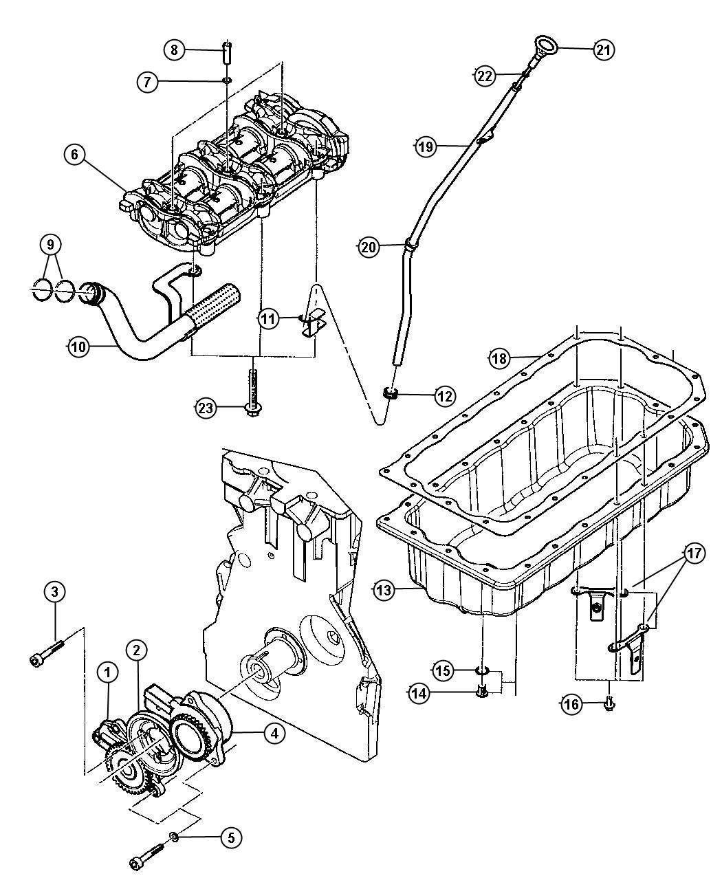 Dodge Magnum Pump Vacuum