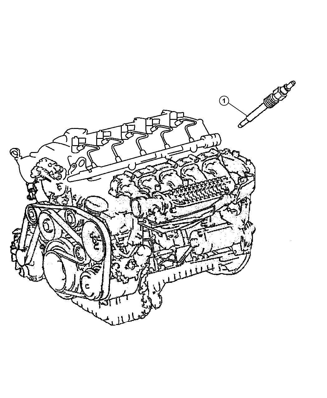 Dodge Sprinter Relay Electrical Glow Plugs