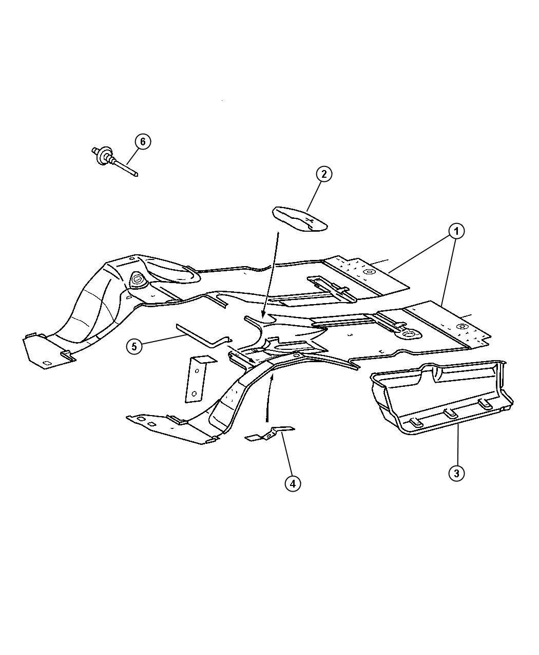 Dodge Sprinter Rivet