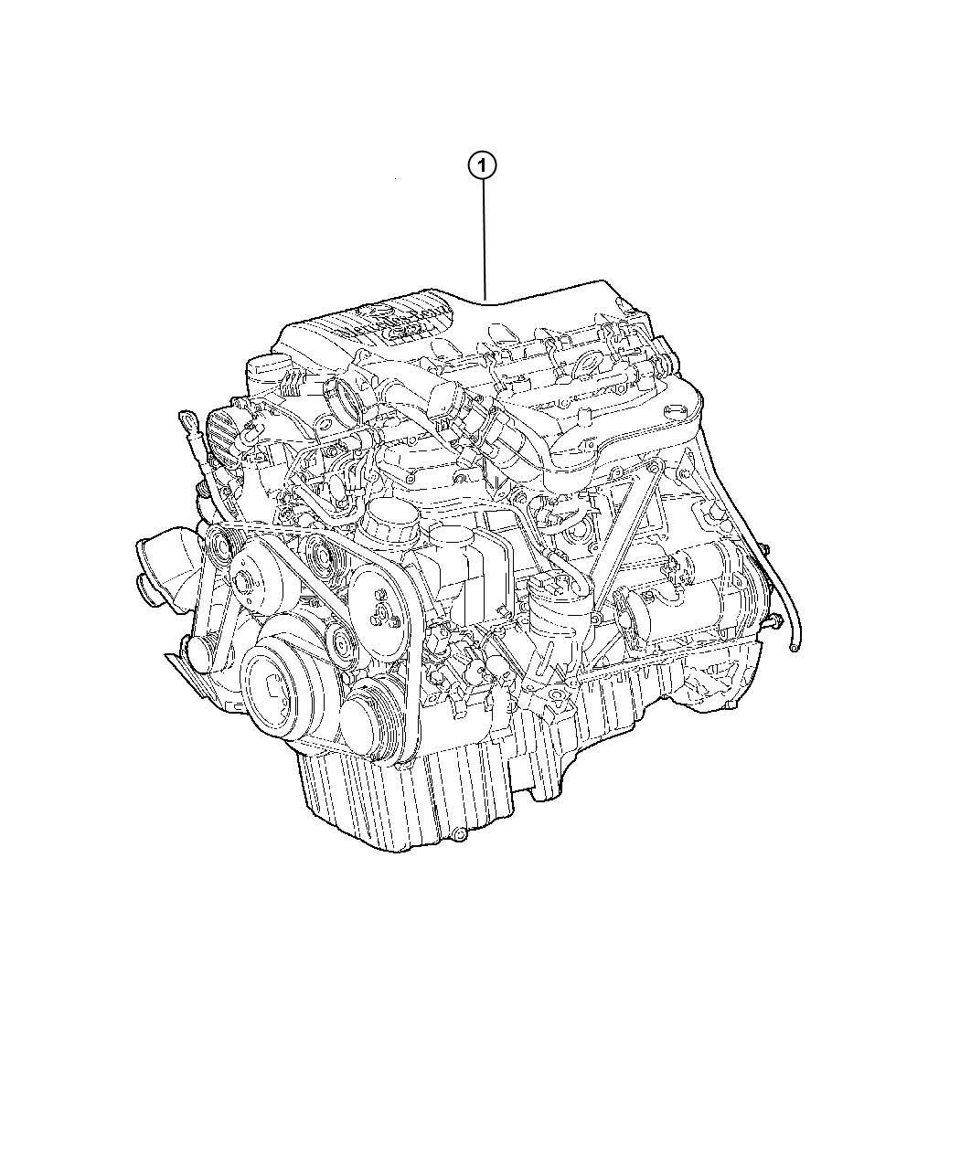 Dodge Sprinter Engine Completesel Turbo