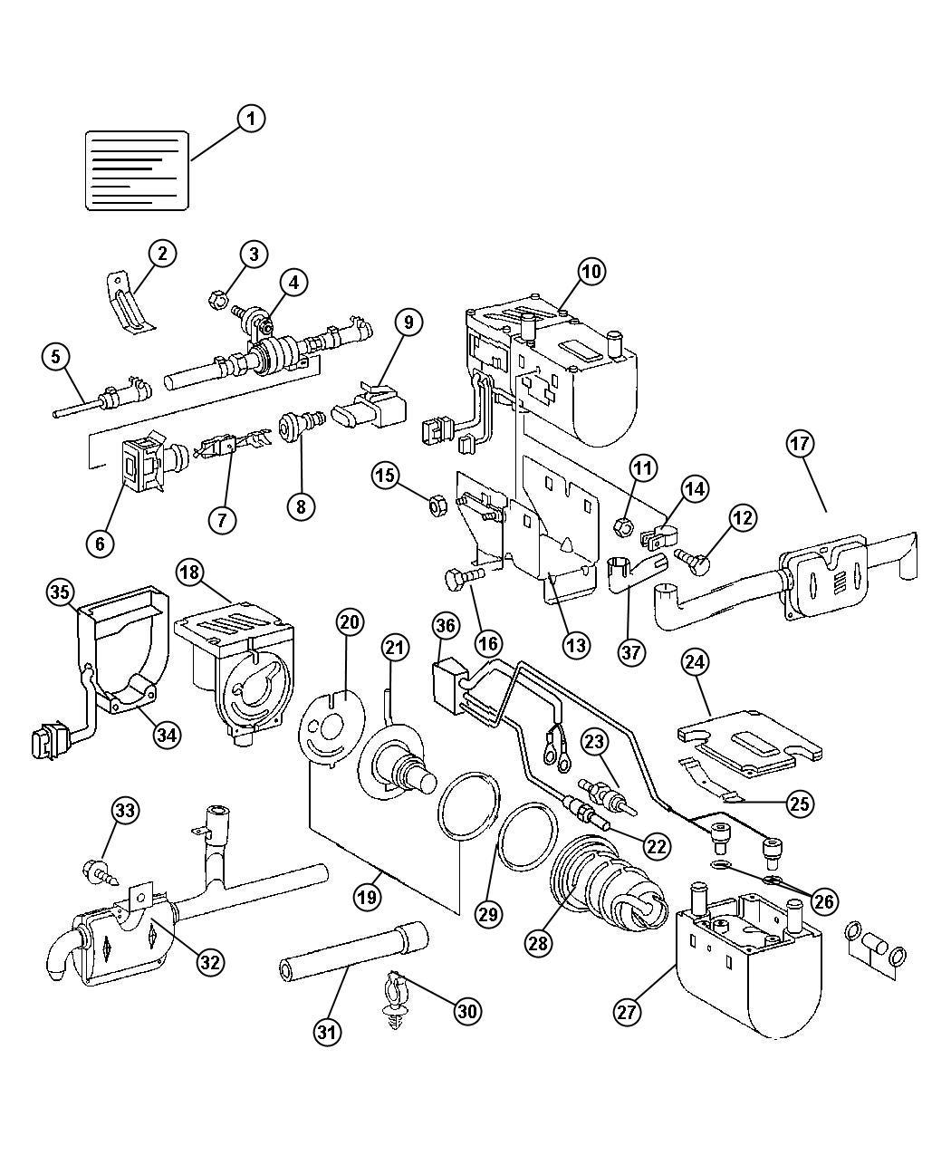 Dodge Sprinter Heater Supplementalsel Fuel