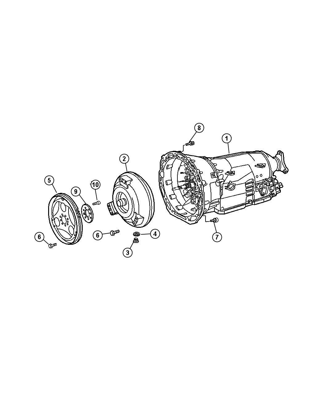 Dodge Sprinter Flex Plate Pistons Crankshaft