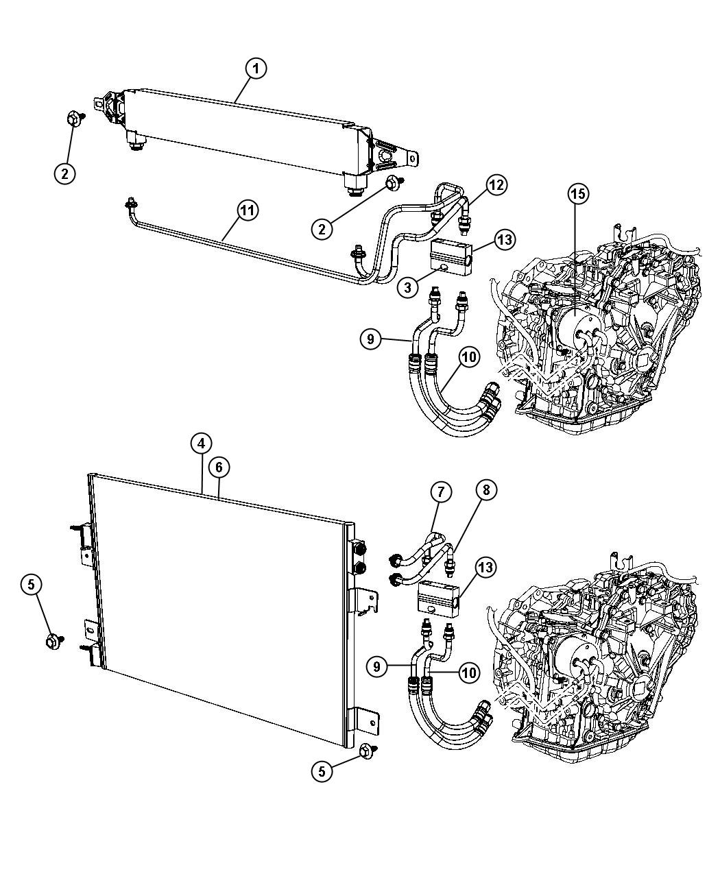 Jeep Patriot Tube Transmission By Pass Valve By
