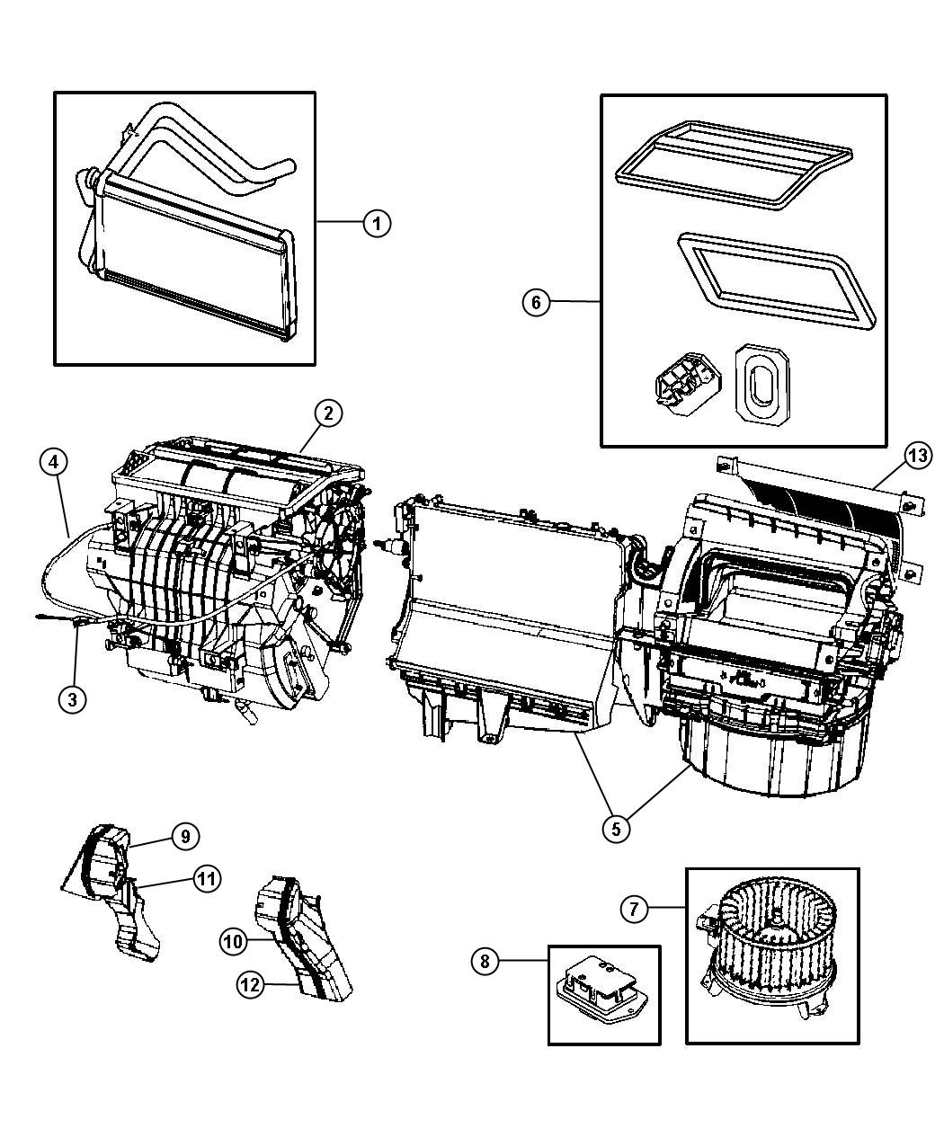 Jeep Compass Fuse Panel Diagram