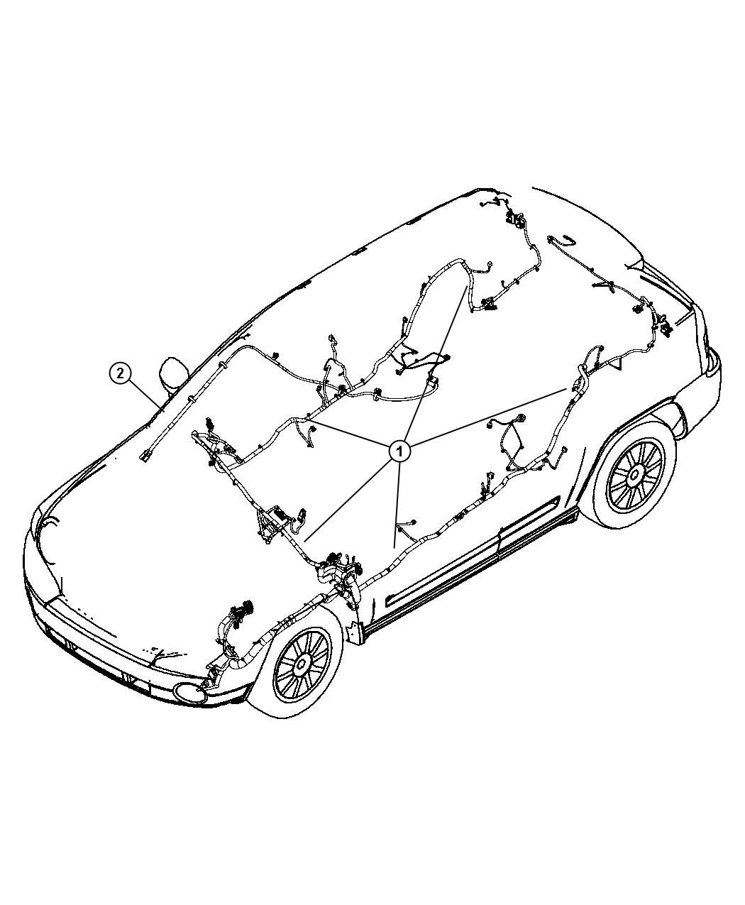 Jeep Compass Wiring Unified Body Restraint System