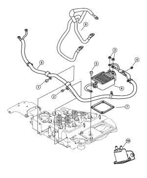 Dodge Ram 3500 Wiring Air intake heater [federal emissions], [california emissions