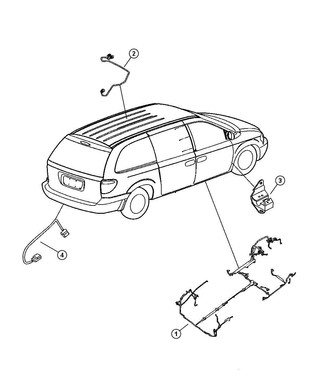 Dodge Ram Plug Dash Panel Lower Left E Coat Drain