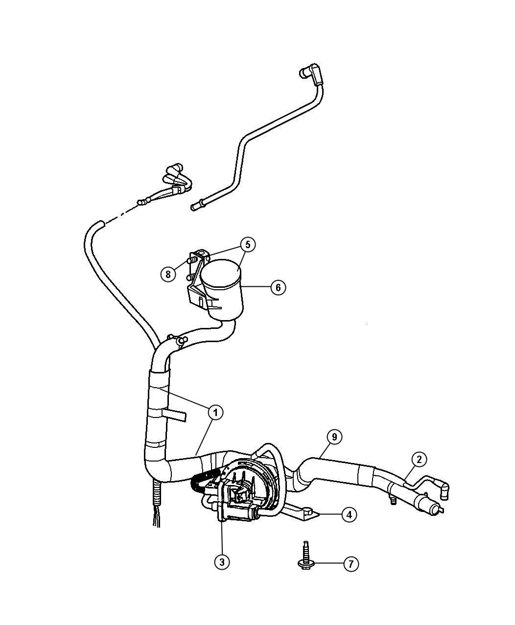 Dodge Grand Caravan Harness Nvld To Filter Pump Exhaust