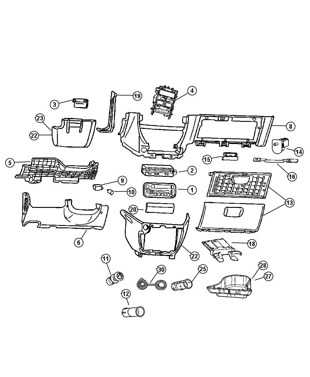 Dodge Caravan Control A C And Heater Hag Air