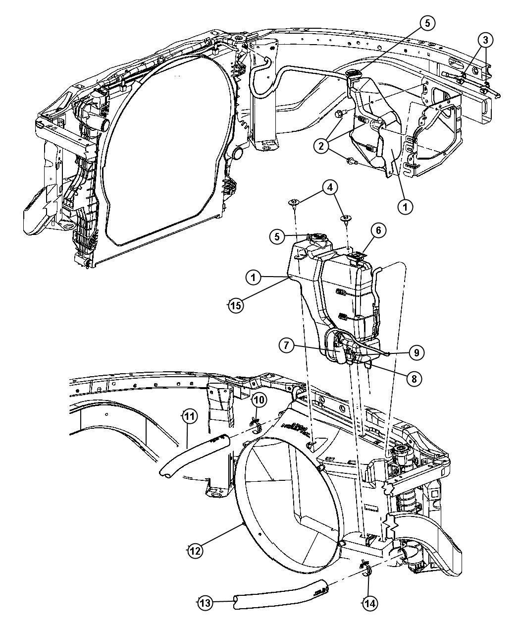 Dodge Ram Pump Washer Windshield