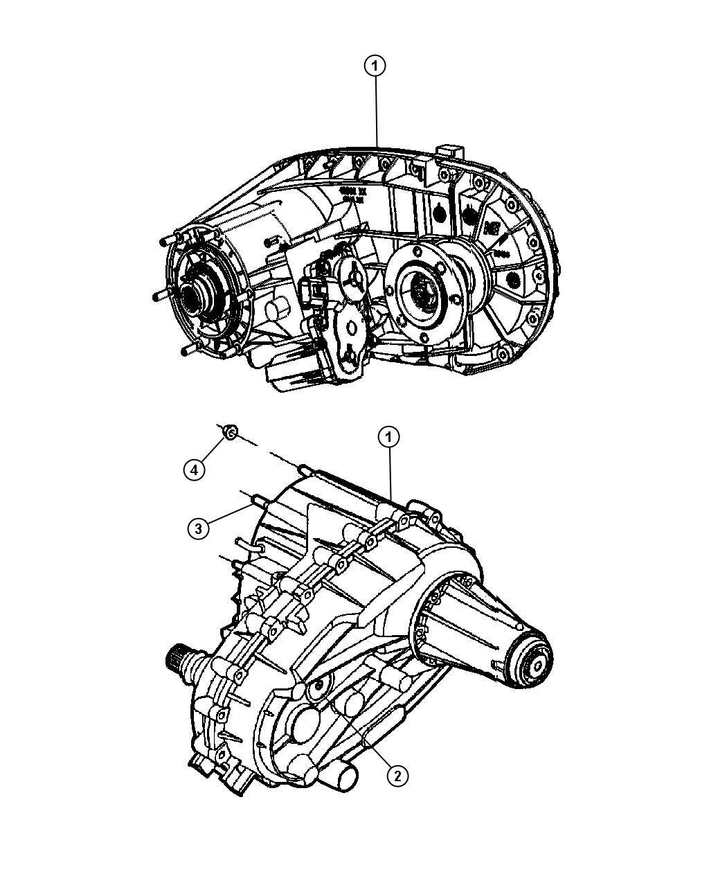 Dodge Ram Transfer Case Nvg273 Remanufactured Shift Fly Elec