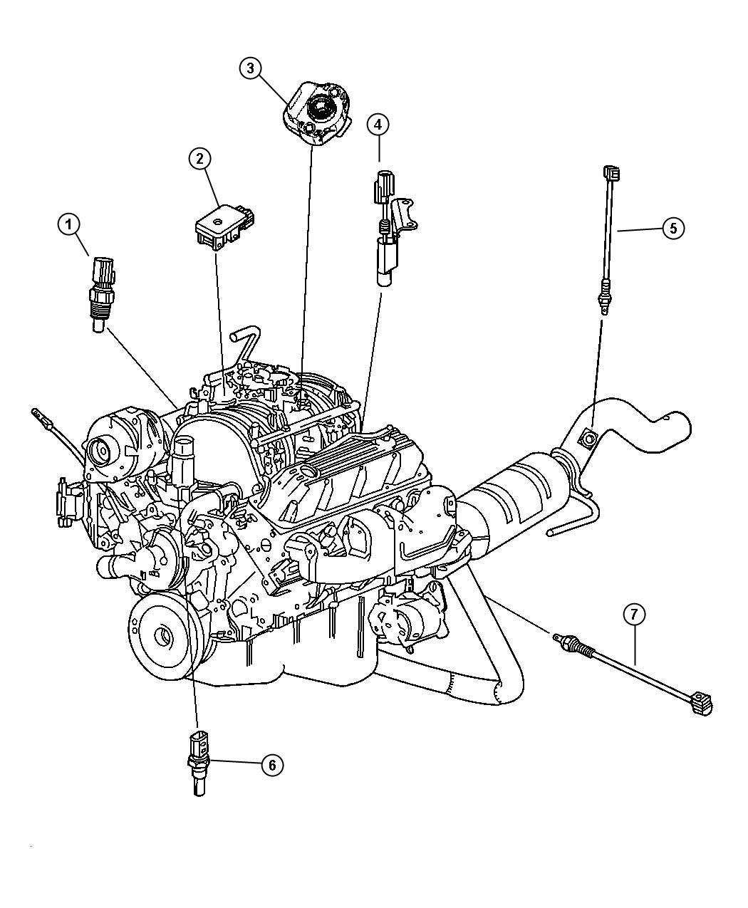 Chrysler 300 Sensor Coolant Temperature Torque