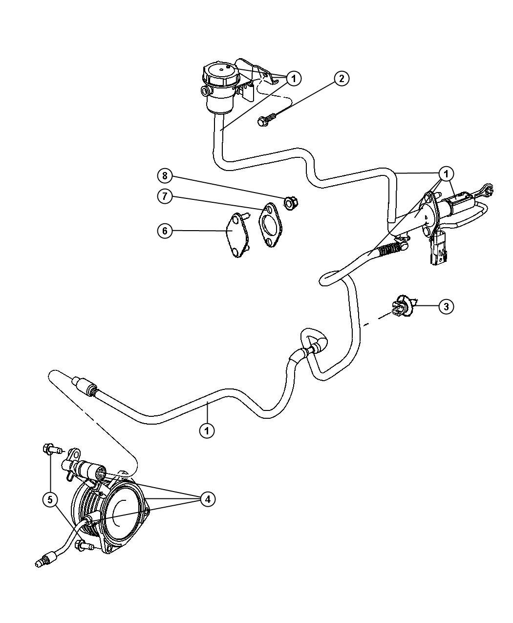 Jeep Compass Actuator Hydraulic Clutch Self