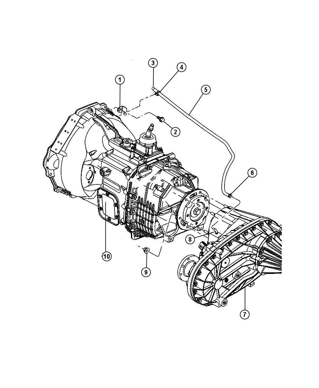 Dodge Ram Transfer Case Nvg271 See Note Deq