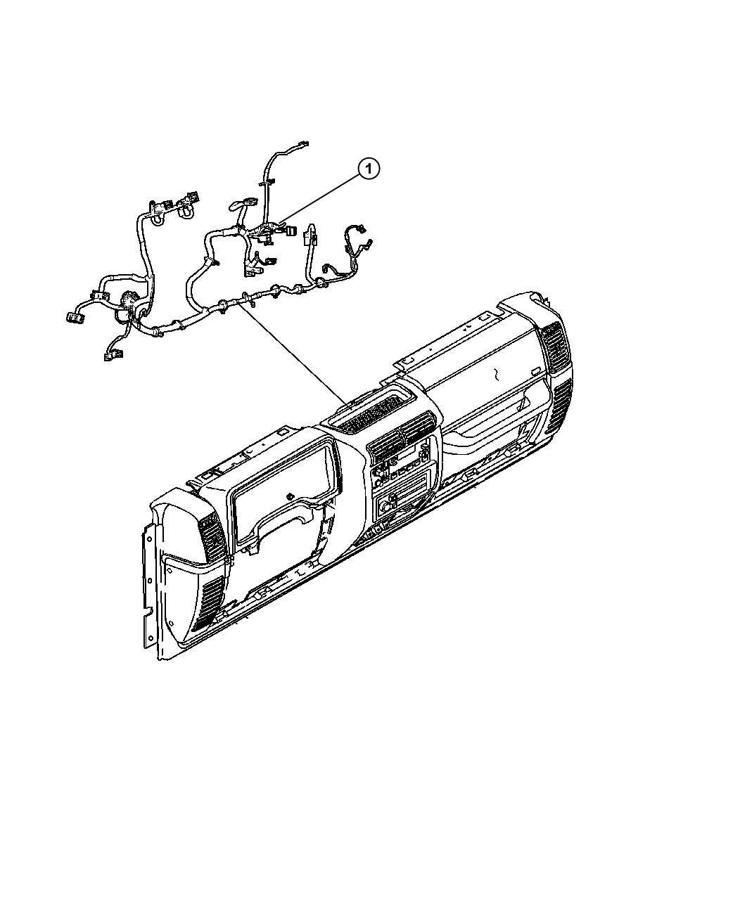 Jeep Wrangler Wiring Instrument Panel Windows