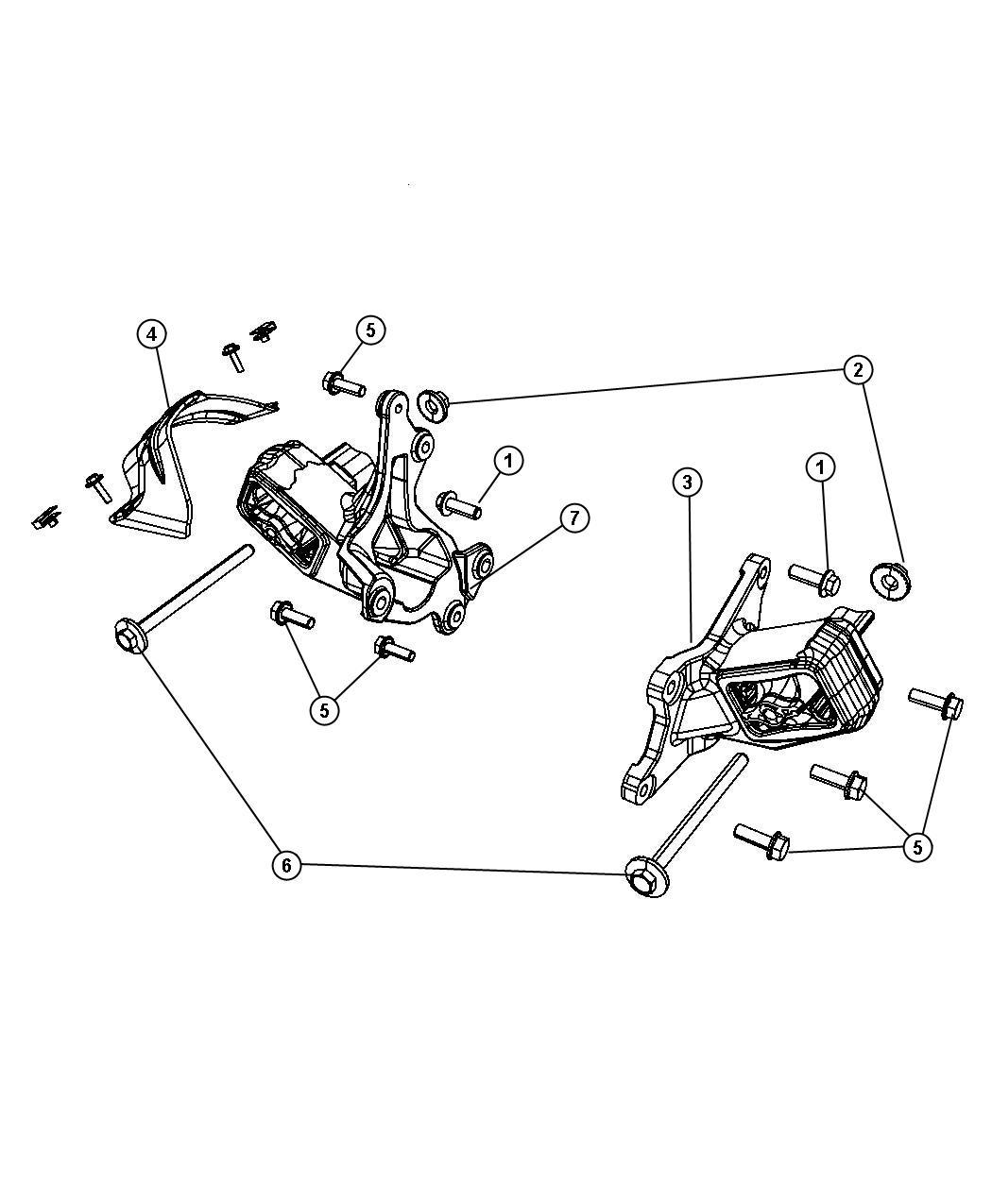 Jeep Wrangler Shield Engine Mount Heat Left Egt