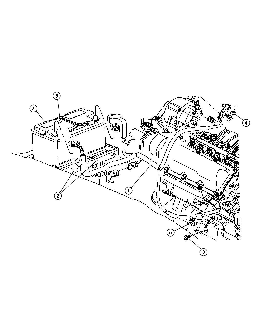 Jeep Grand Cherokee Wiring Used For Alternator And