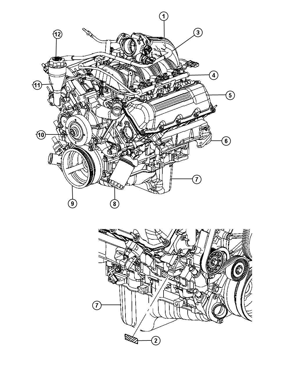 Jeep Grand Cherokee Cap Oil Filler 3 7l V6 Engine