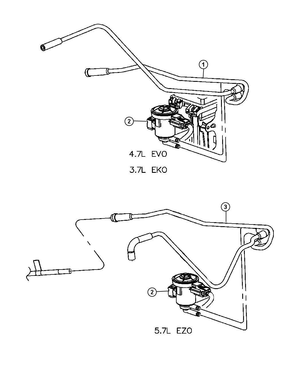 Jeep Commander Solenoid Proportional Purge Vacuum