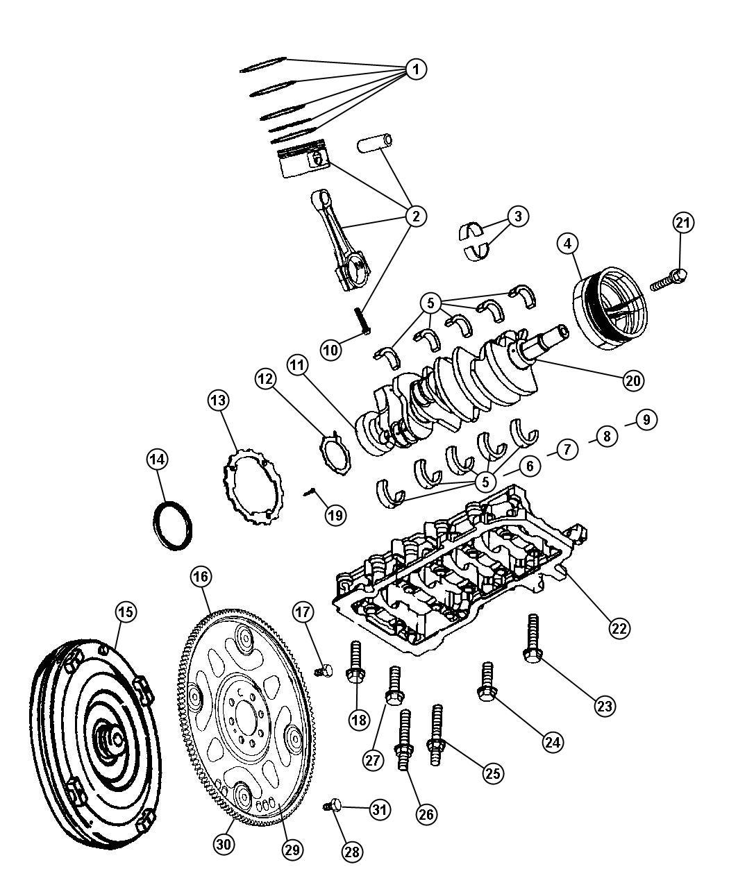 Dodge Ram Converter Package Torque Converter