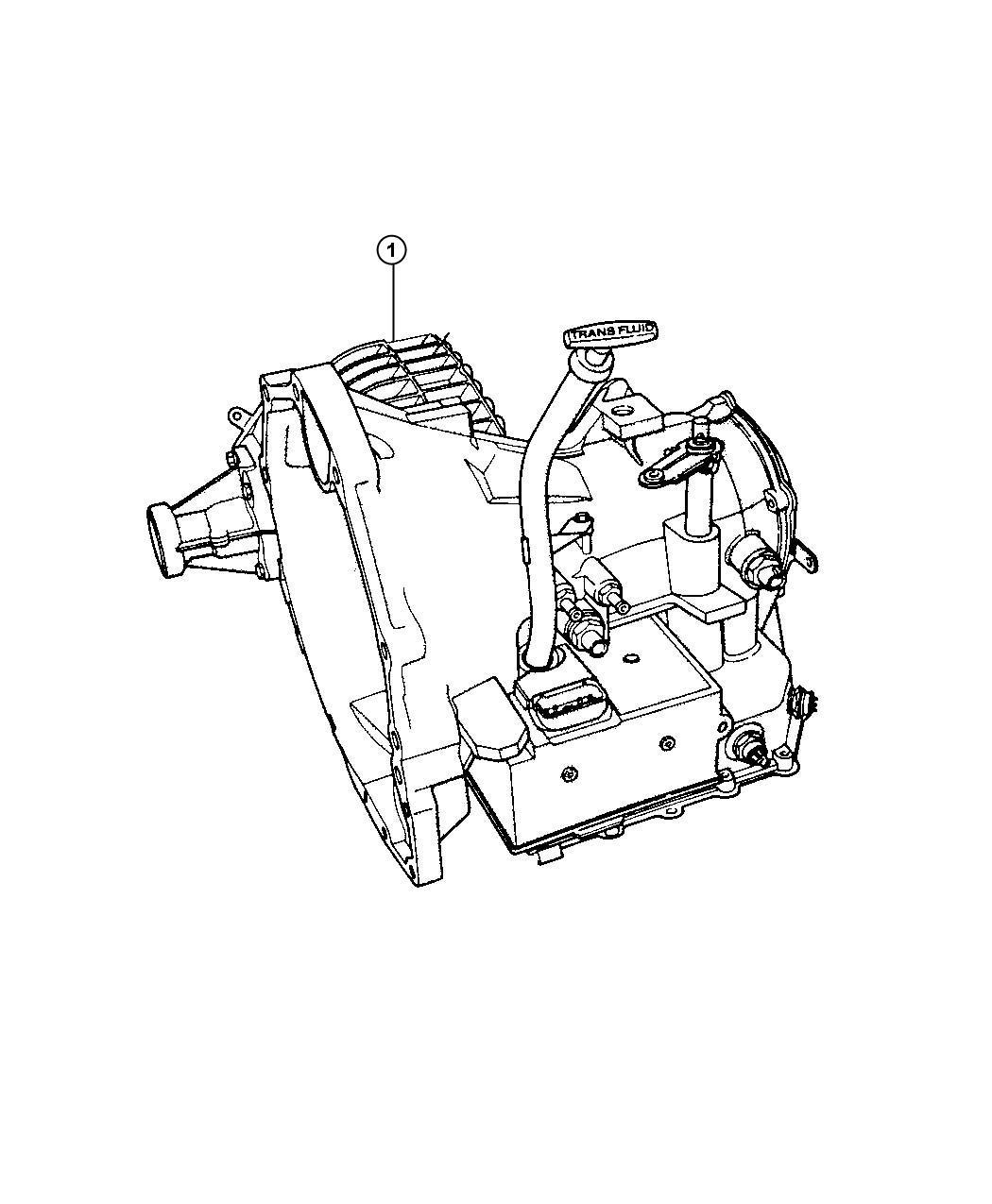 Chrysler Pacifica 41te Tran With Torque Converter
