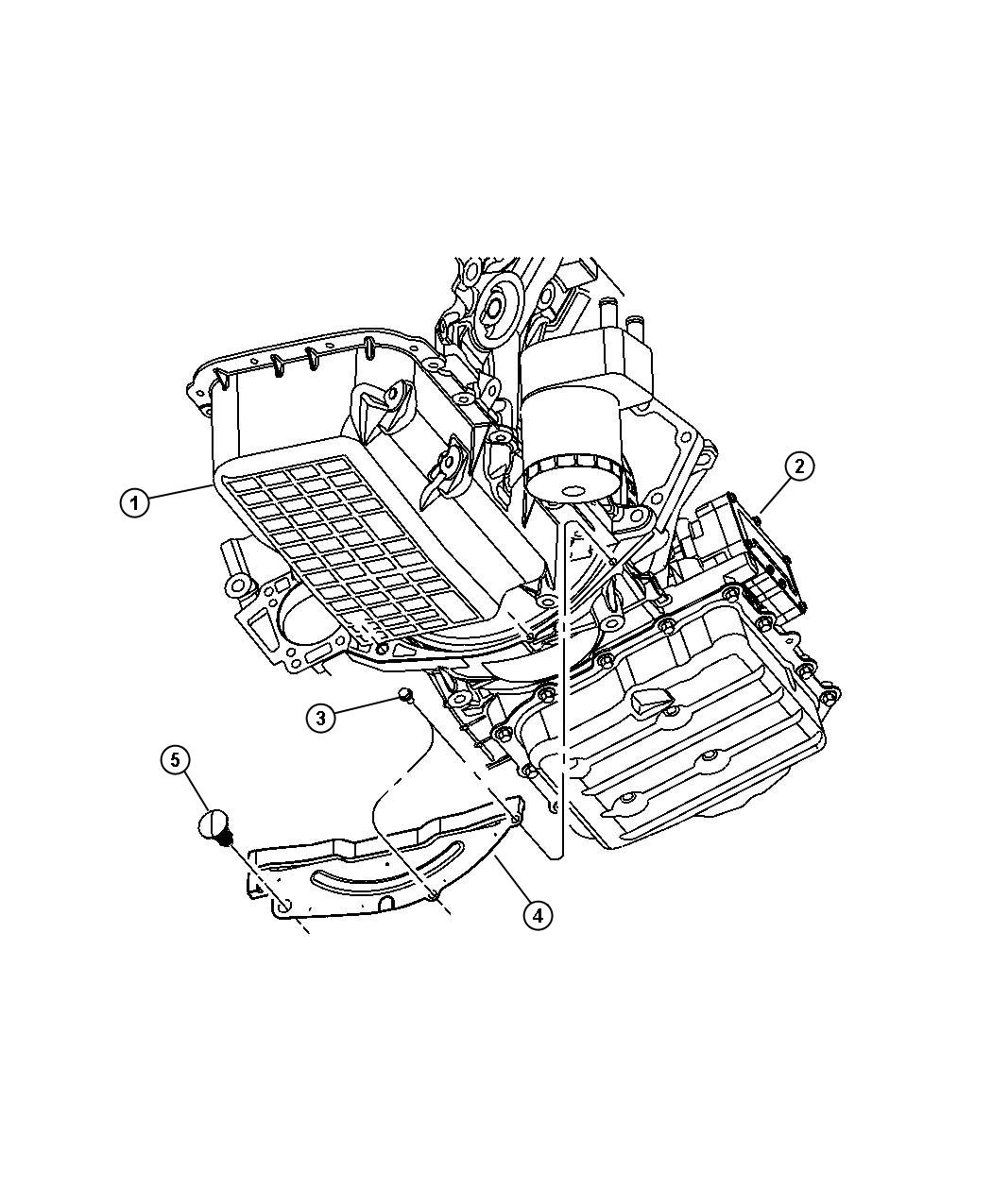 Chrysler Pacifica Trans Pkg With Torque Converter 41te