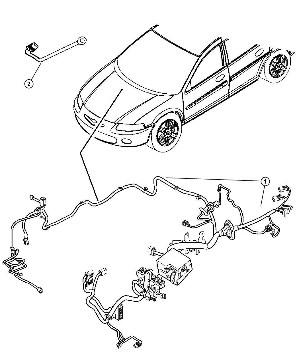 Chrysler Sebring Wiring Jumper Cooling Fan