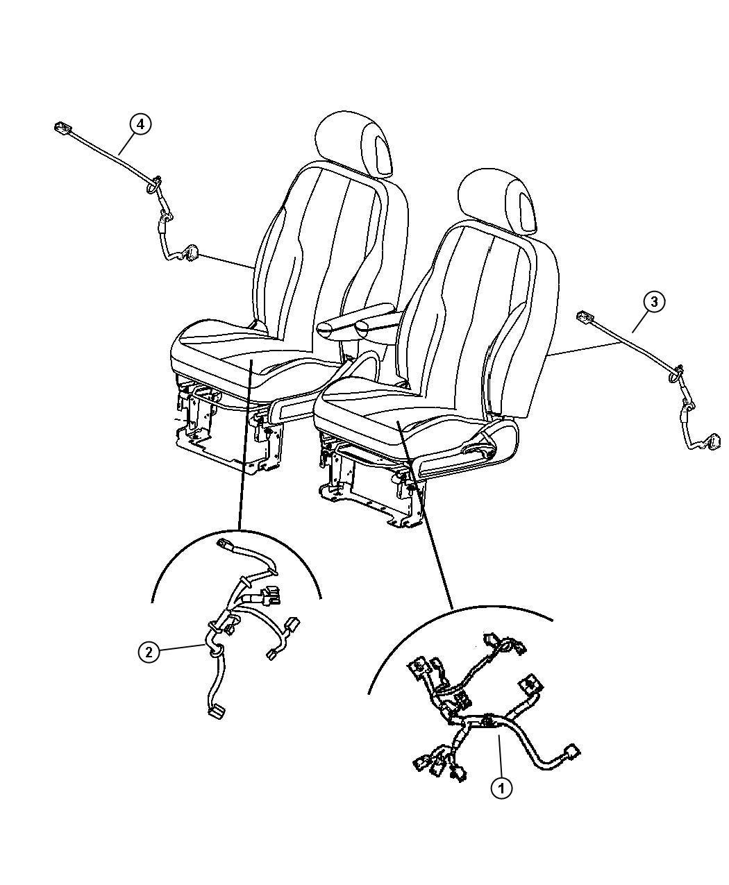 Chrysler Pt Cruiser Wiring Power Seat Seat