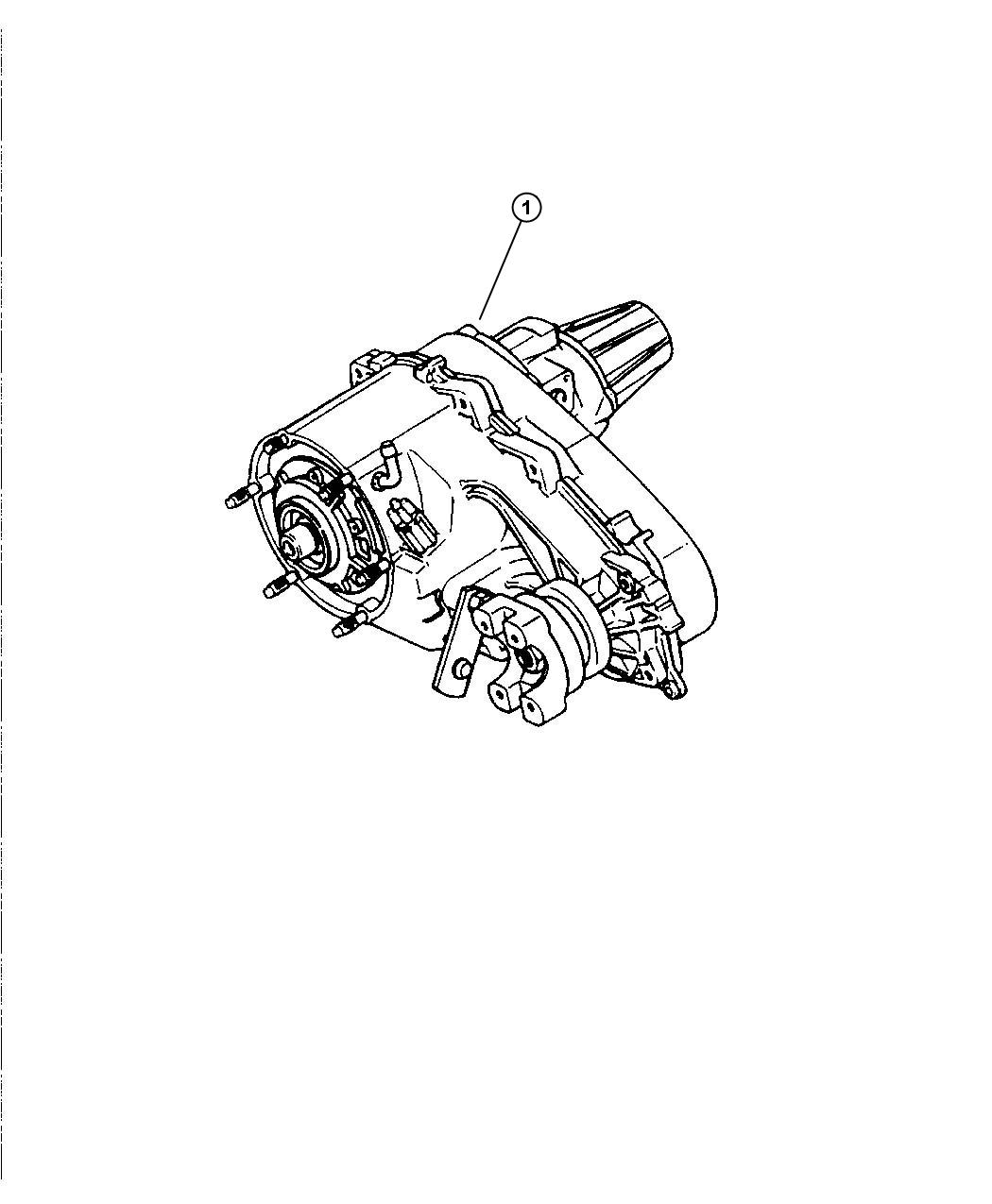 Jeep Liberty Transfer Case Np242 Relabel Trac