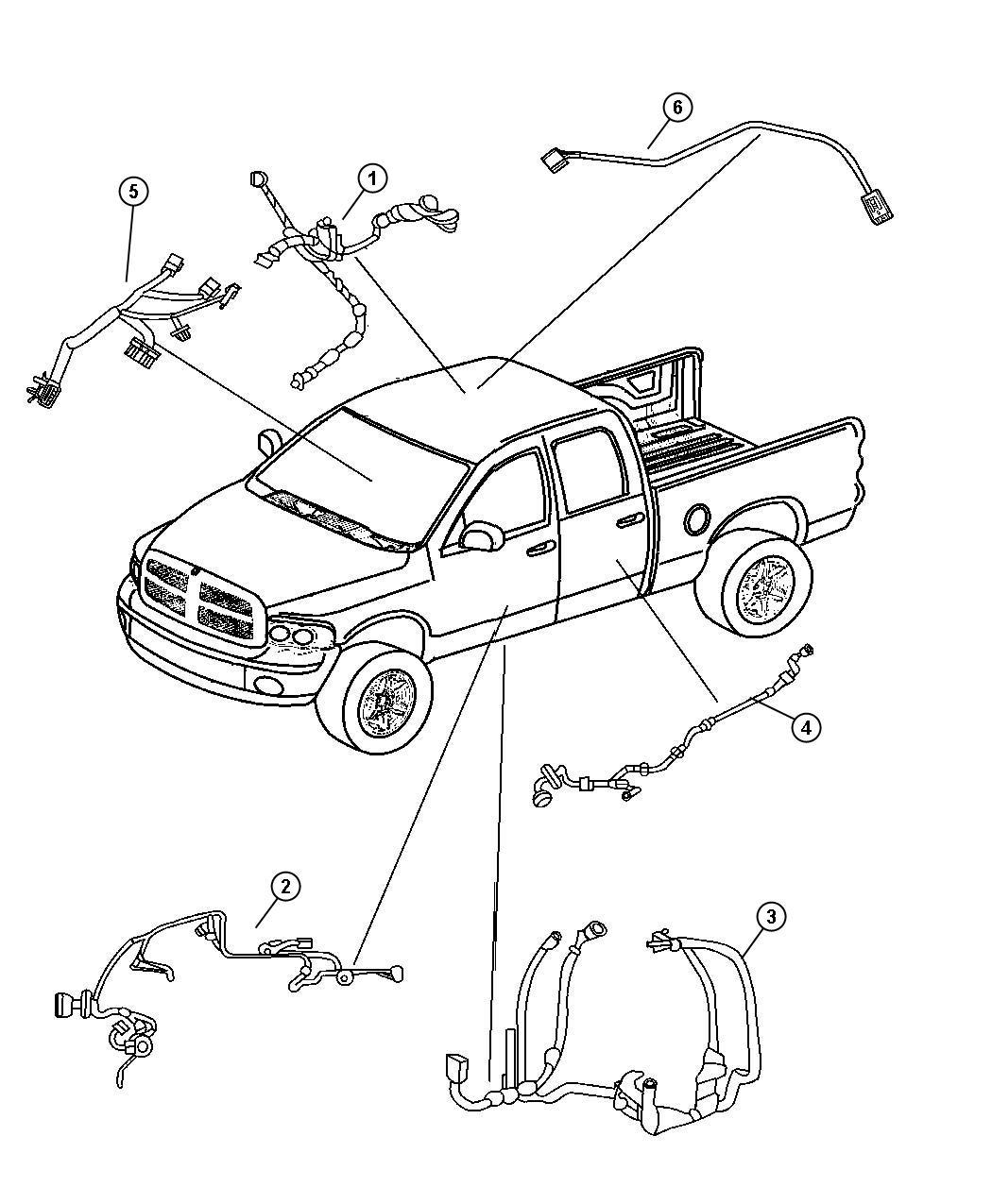Chrysler 300 Wiring Front Door Driver Left Speakers
