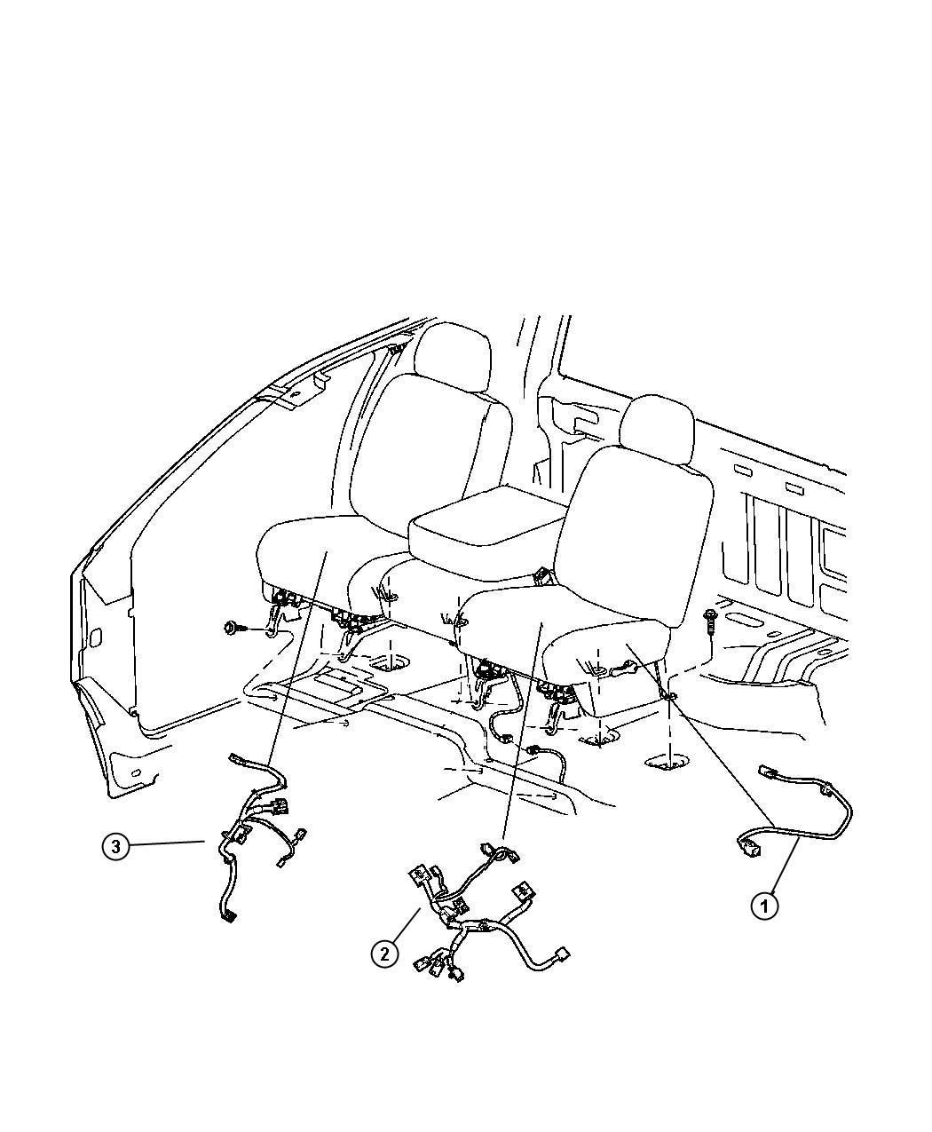 Dodge Dakota Wiring Power Seat Seat Heated Front