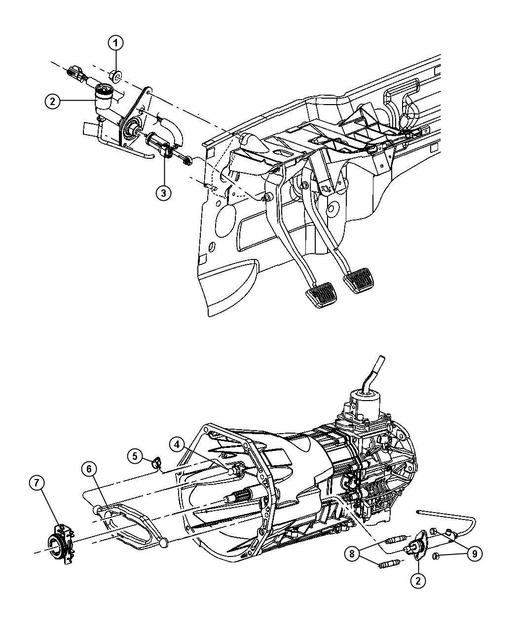 Jeep Liberty Switch Clutch Starter Interlock
