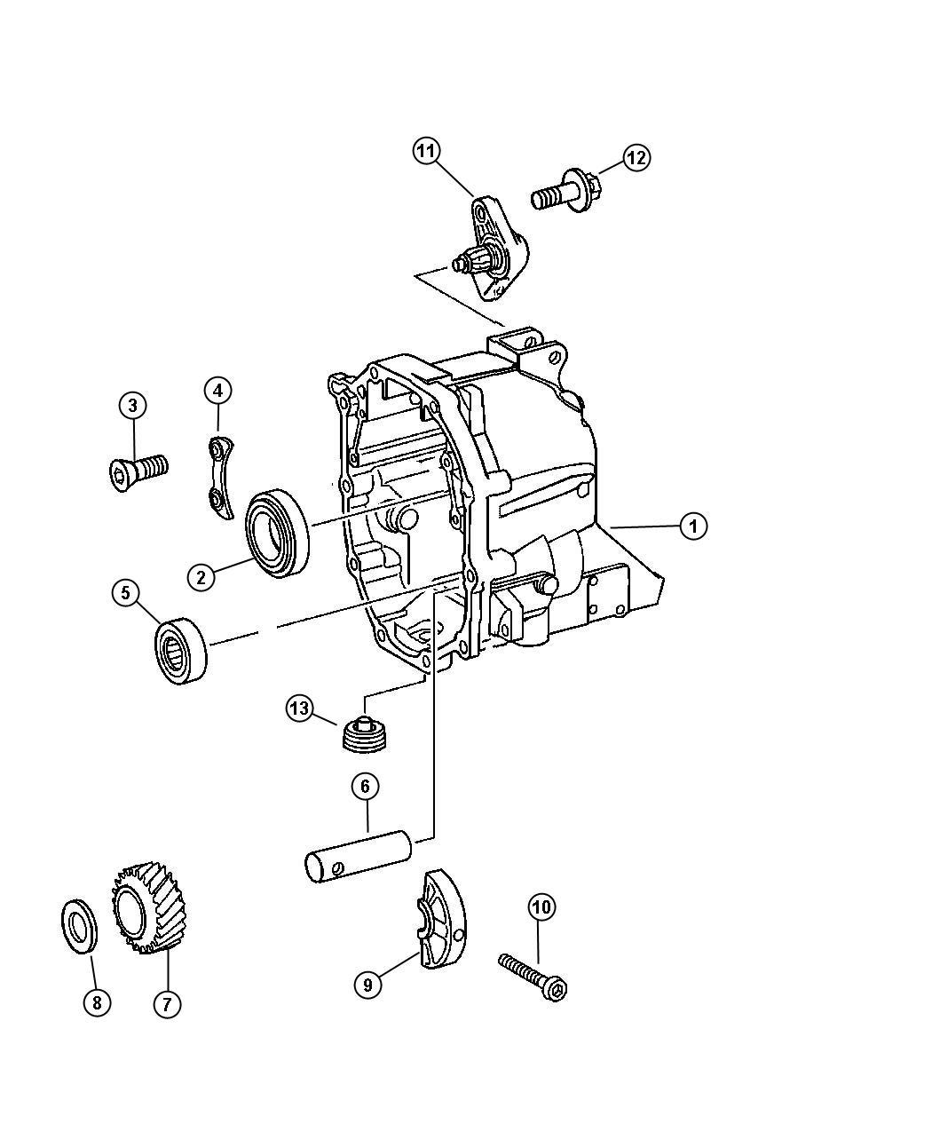 Dodge Nitro Bearing 80mm Related Case