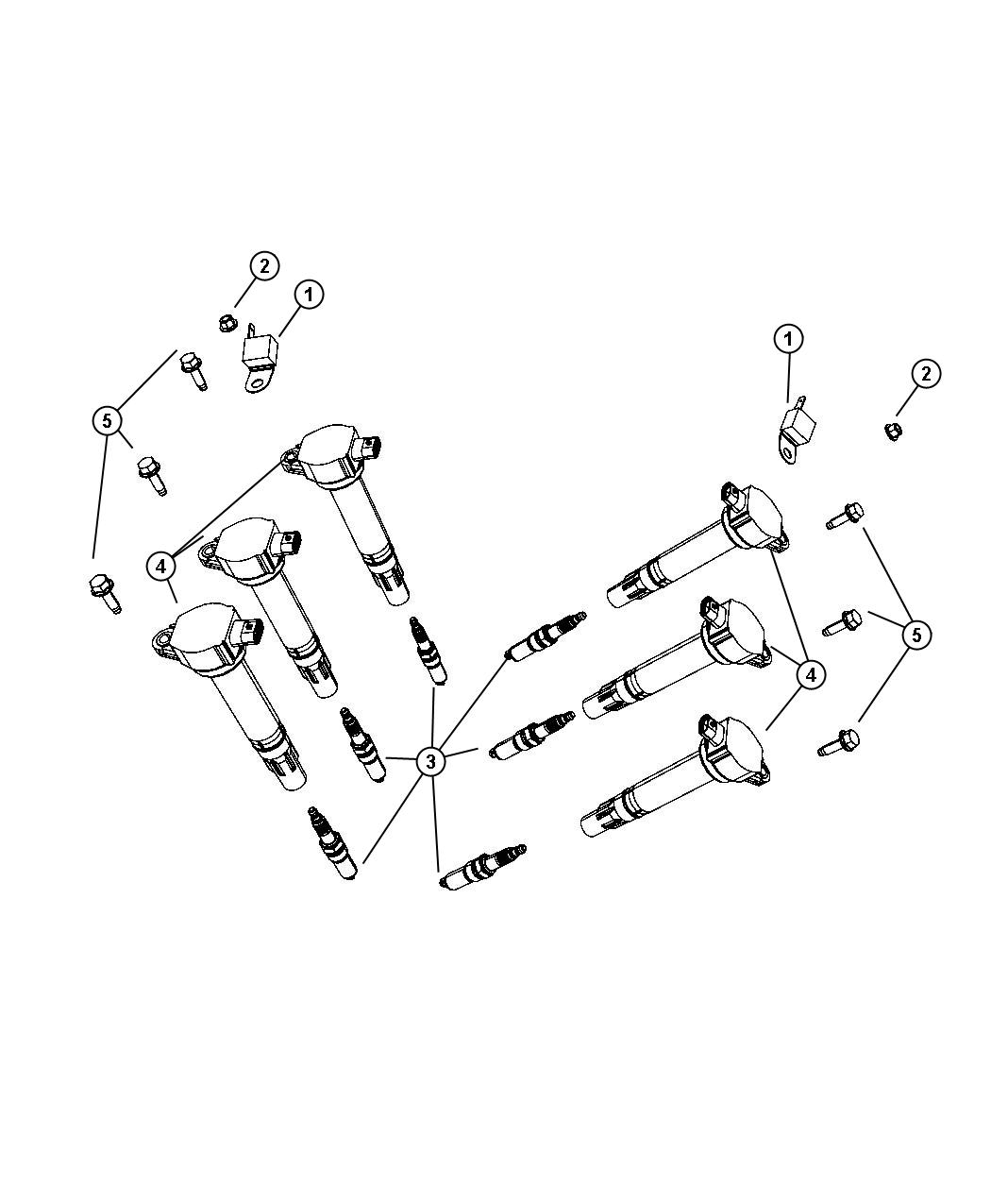Chrysler Sebring Spark Plug Up To 06 16 Plugs