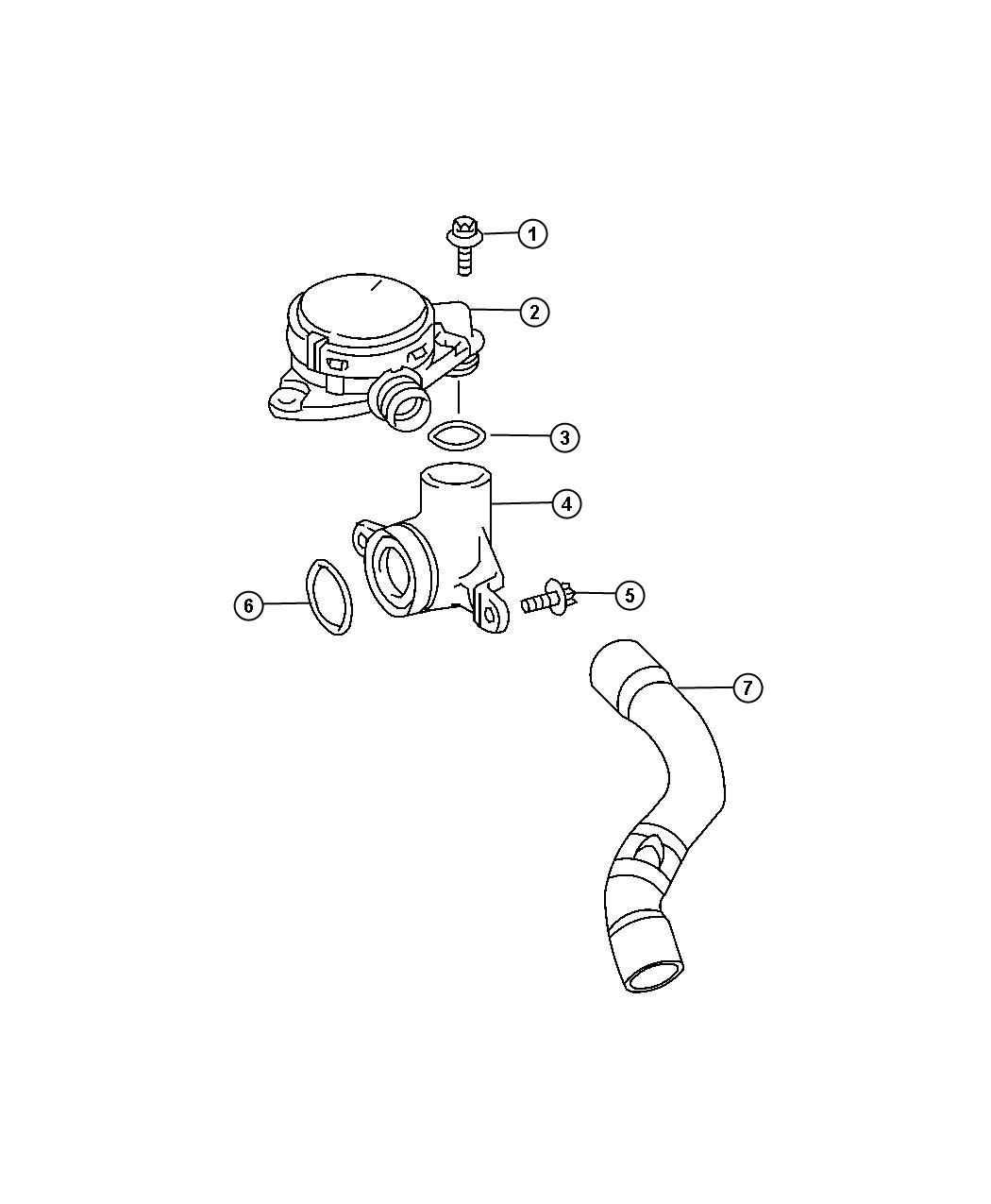 Dodge Sprinter Valve Pcv Pressure Control