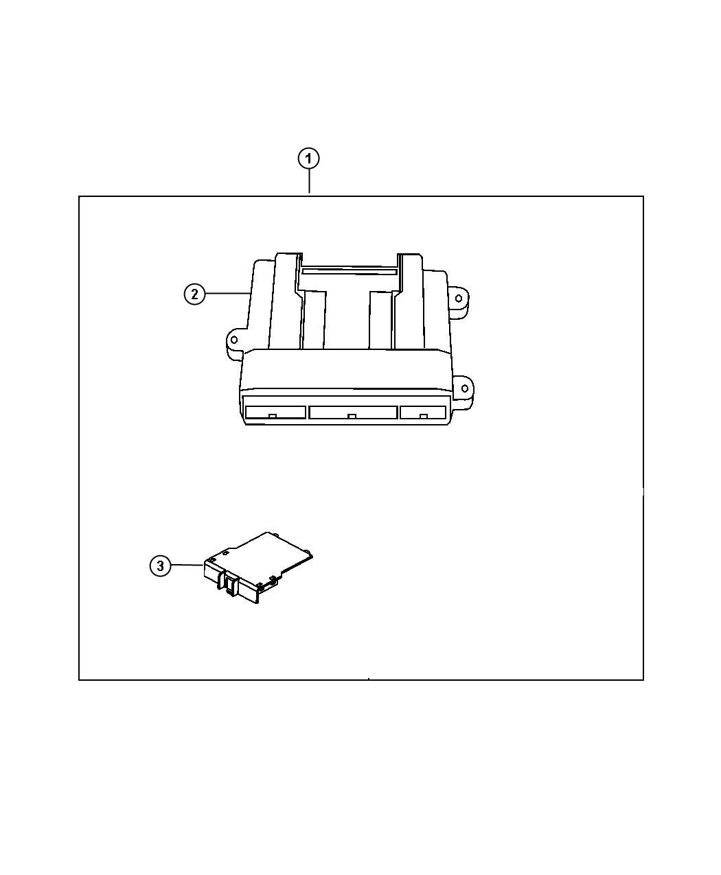Dodge Nitro Module Remote Start Kit Tools Mopar
