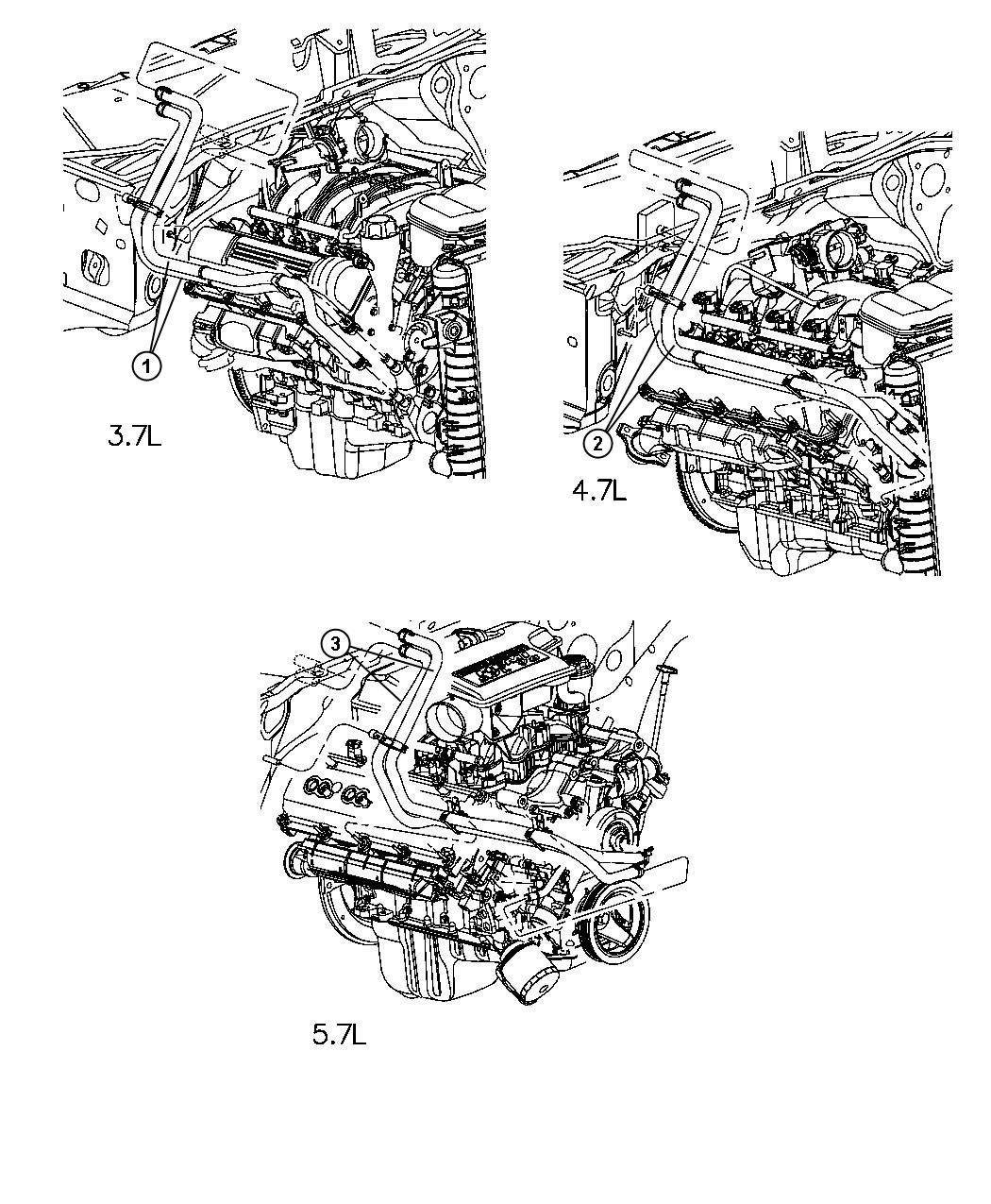 Dodge Ram 4 7 Heater Hose Diagram