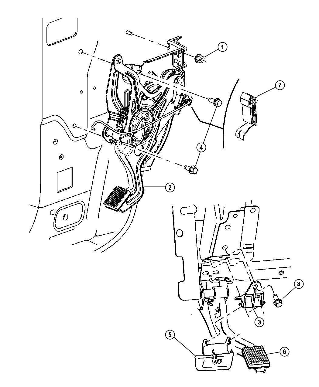 Chrysler Pacifica Handle Parking Brake Dv L2