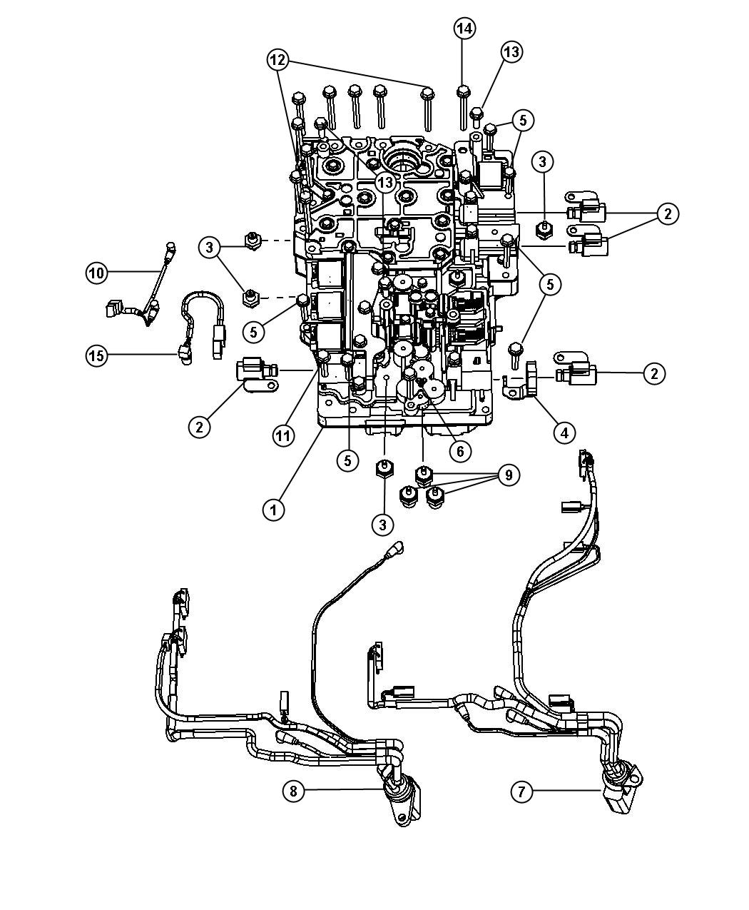 Dodge Ram Switch Oil Pressure Solenoid Left Off