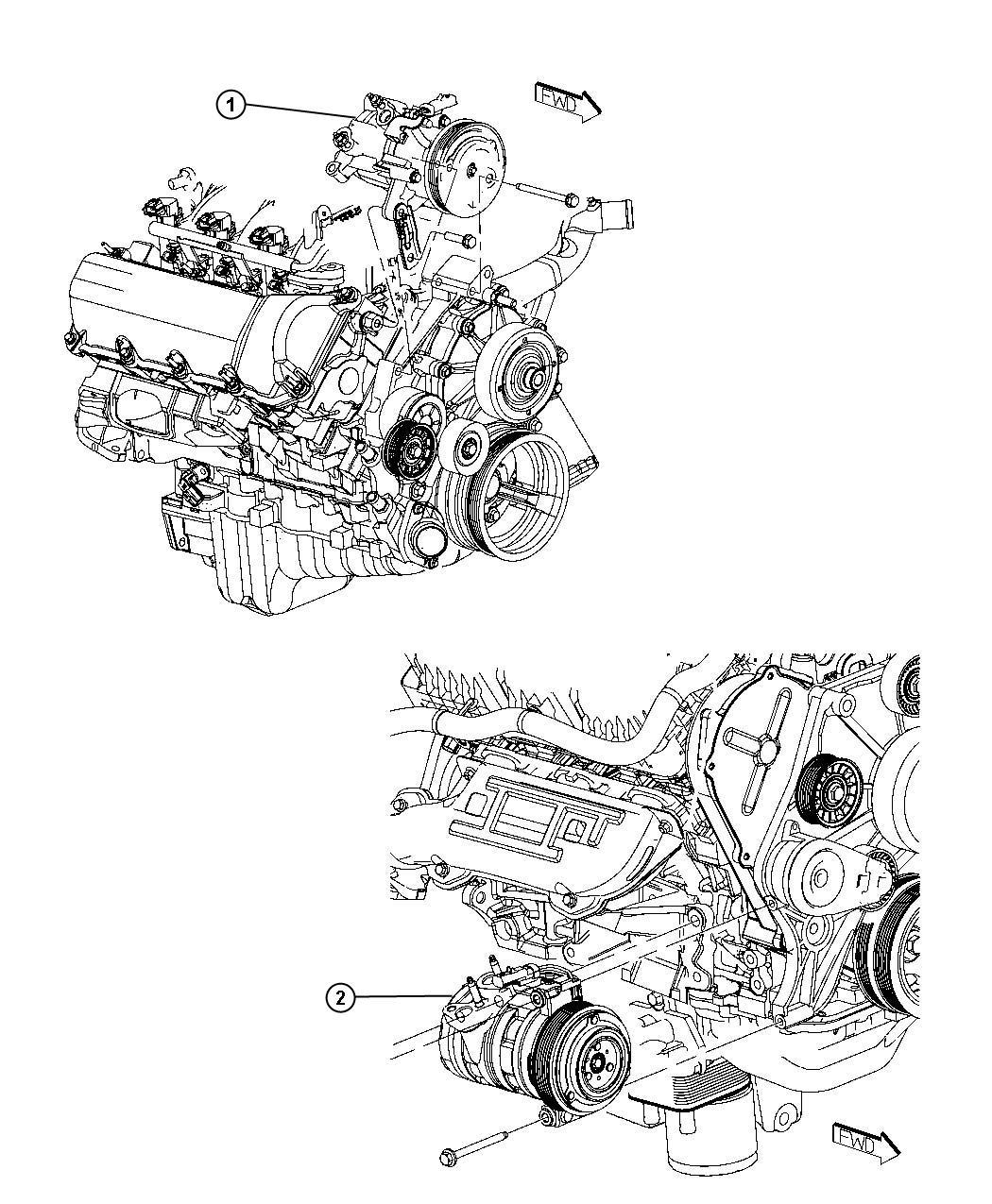 Dodge Nitro Compressor Air Conditioning Complete