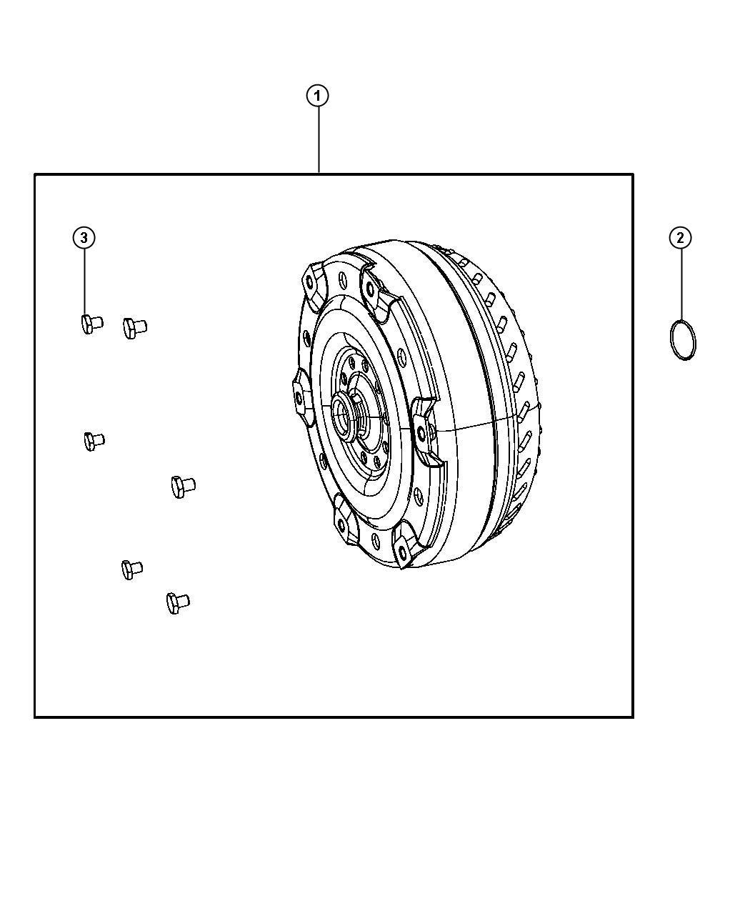Dodge Ram Converter Torque Transmission Assembly