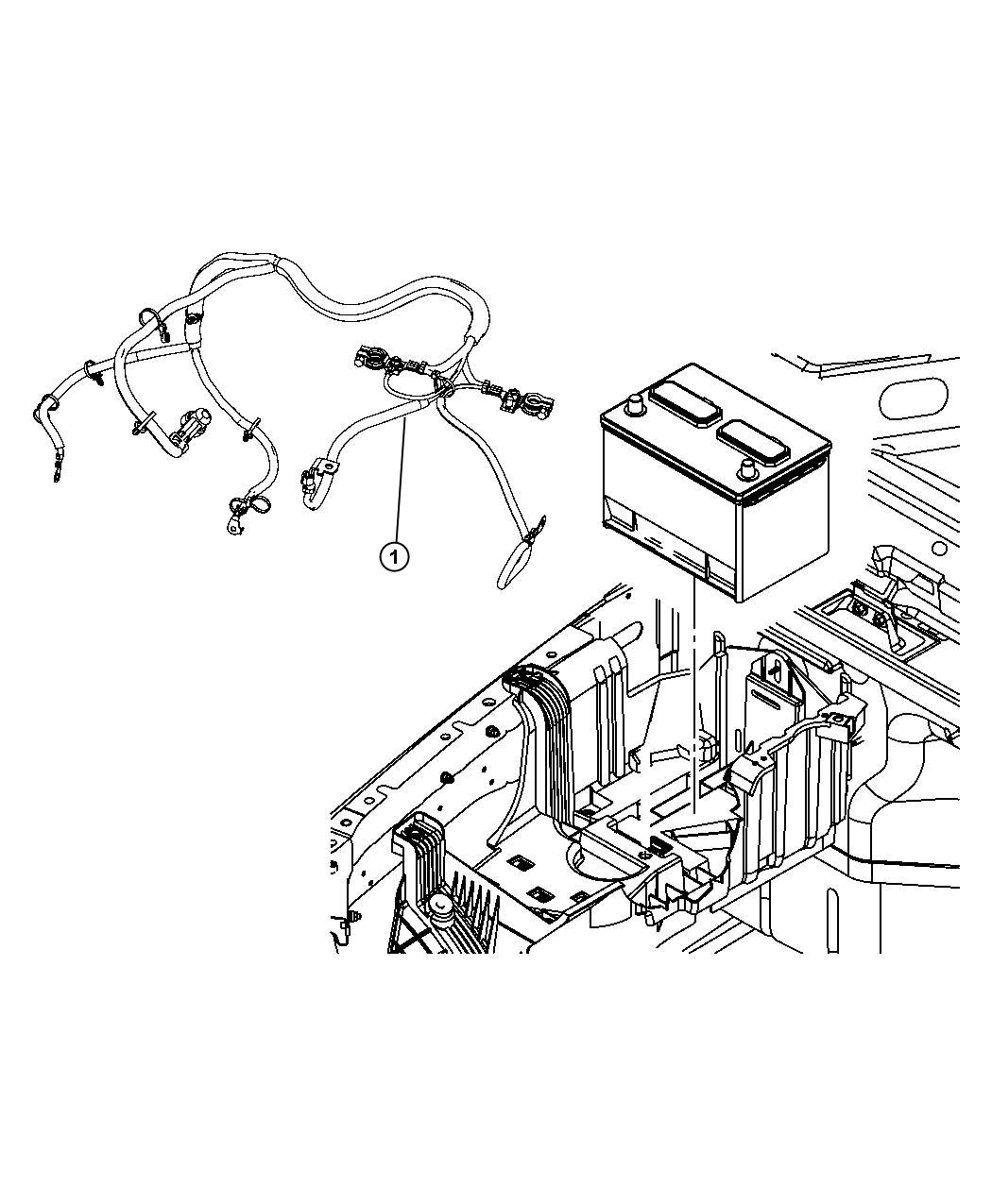 Jeep Wrangler Wiring Battery