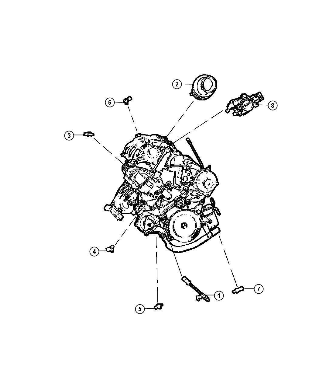 Jeep Wrangler Sensor Charge Air Temp Cleaner Egt