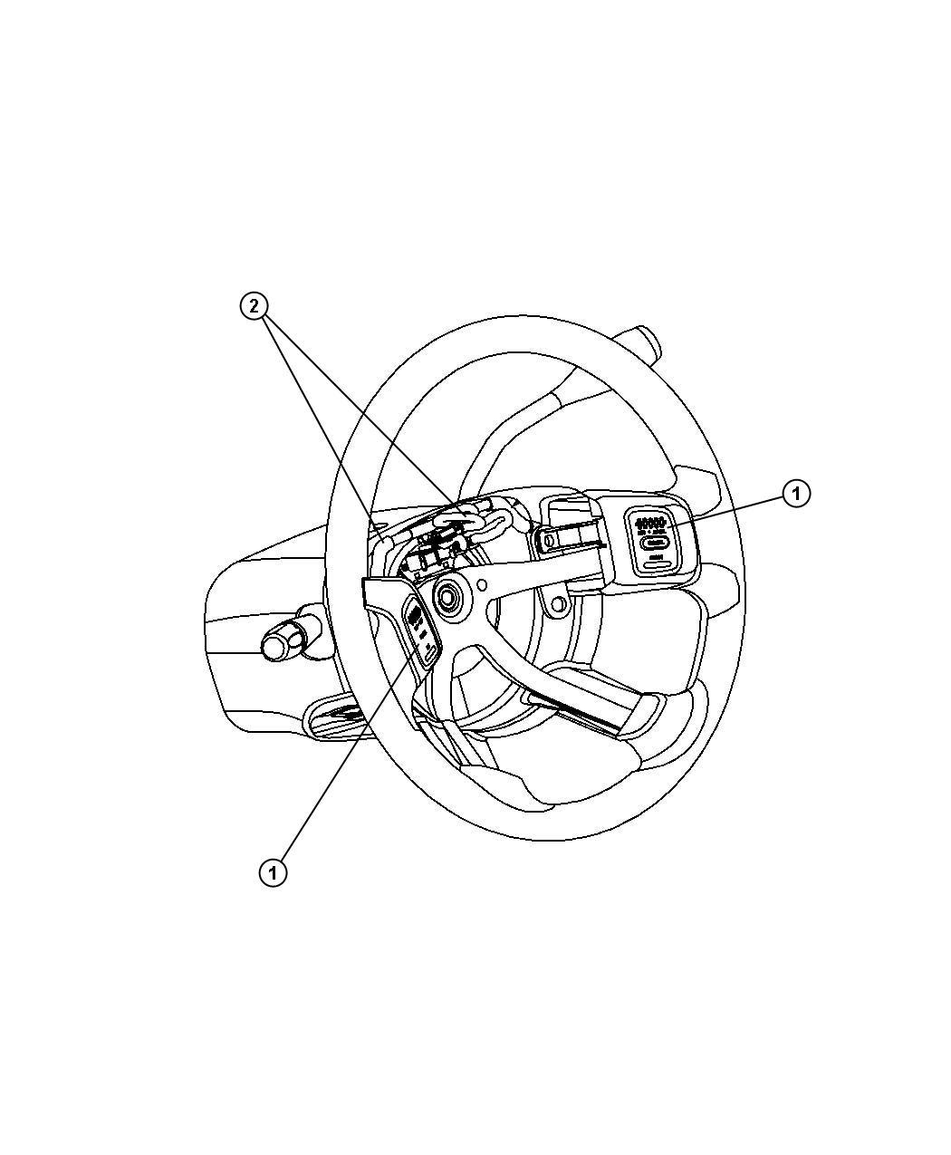 Dodge Durango Wiring Steering Wheel Jumper Trim