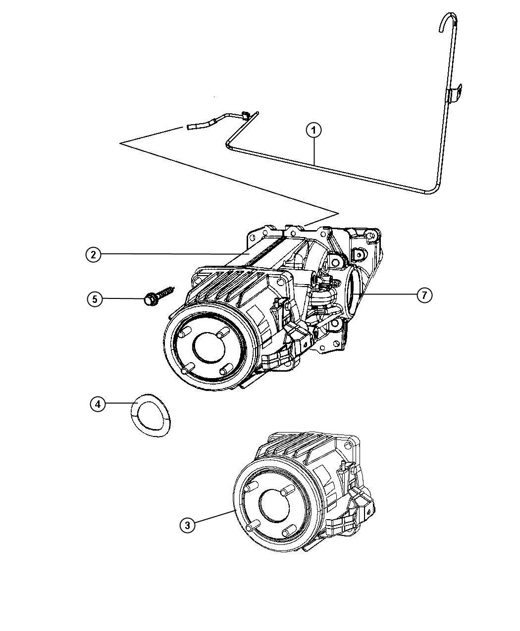 Jeep Patriot Coupling Electric Clutch Contr W