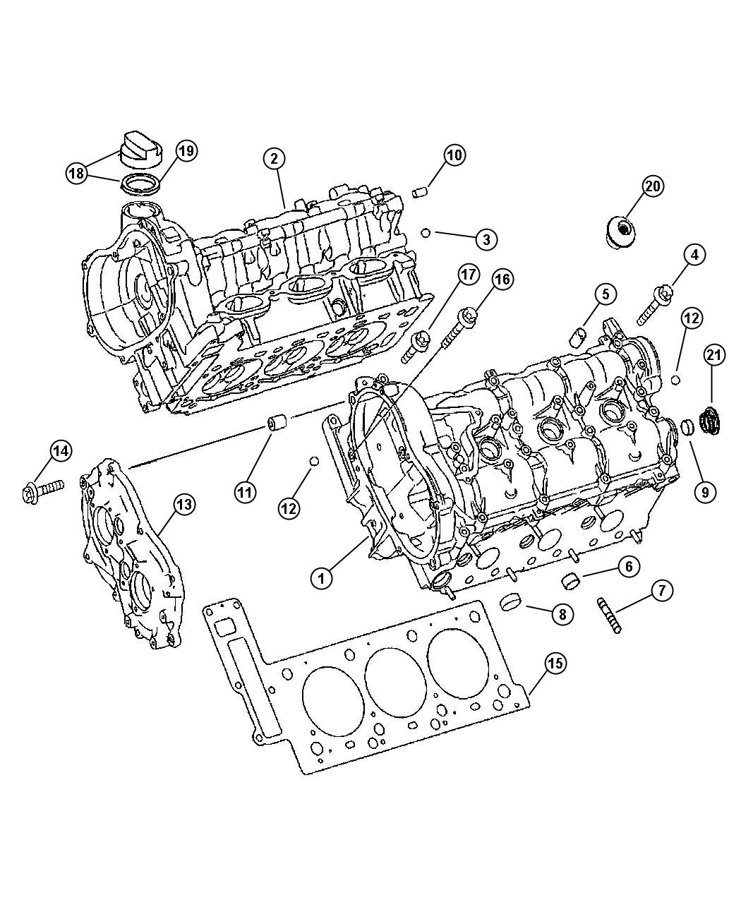 Dodge Sprinter Ball Oil Duct Amp Timing Chain